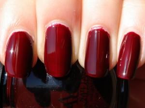 Vampy Burgundy Nail Polish