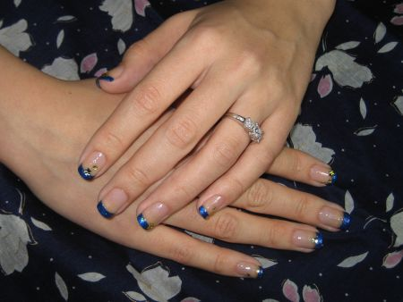 French Manicure with Adoree