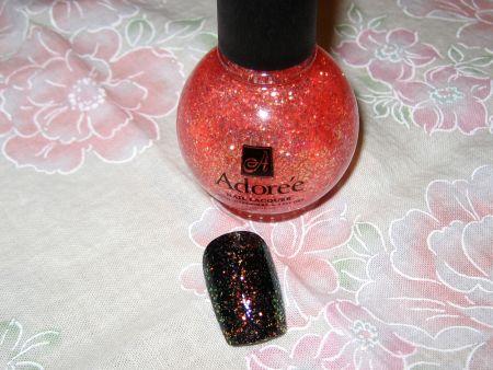 Sheer Glitter Polish