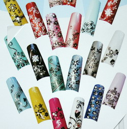 Lace Sticker for Nail Design