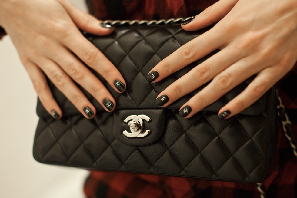 Chanel Nail Sticker