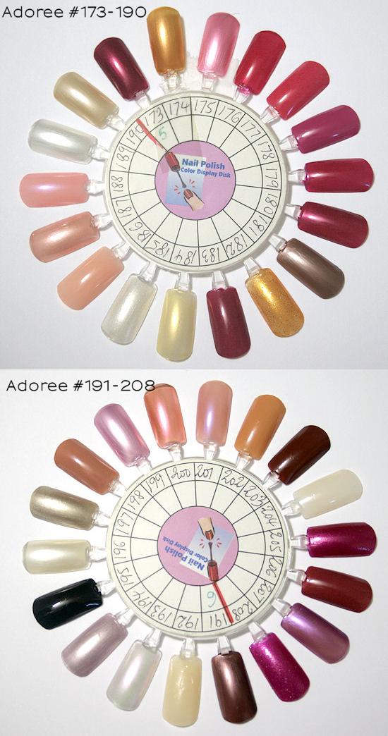 adoree nail polish #173-208