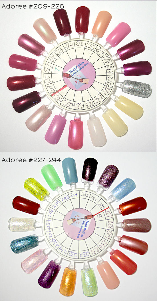 Adoree Nail Polish Color Wheels Esther S Nail Corner