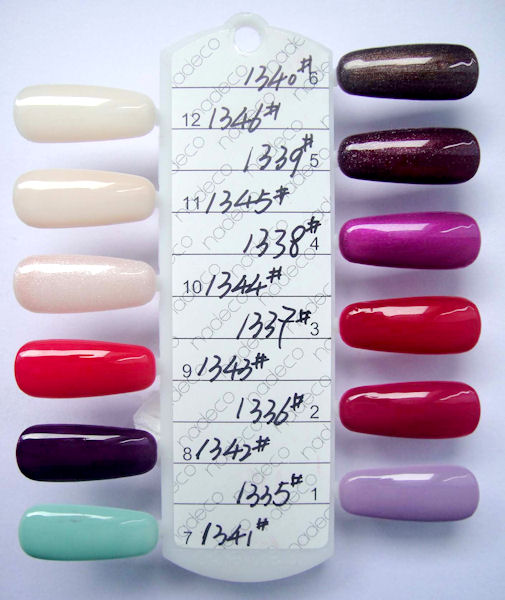 gelish color chart 2