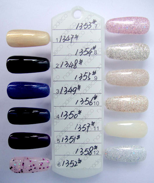 gelish polish color chart 3