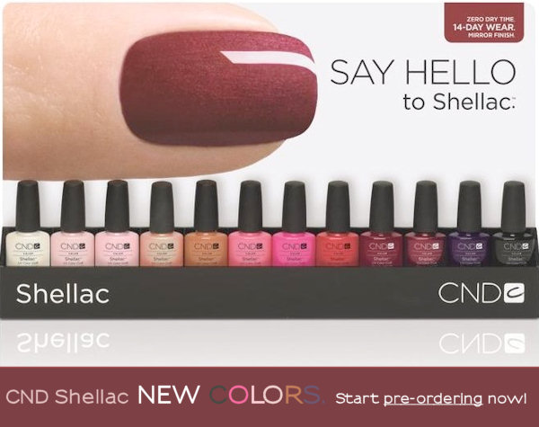 new shellac colors march 2011