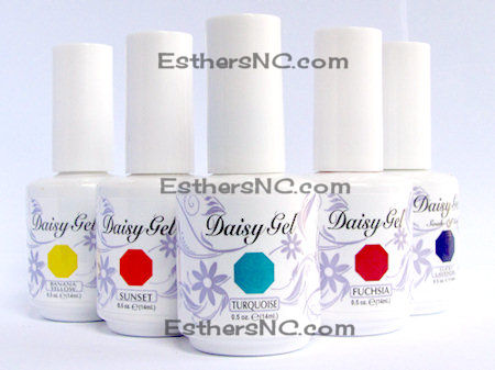 daisy gel nail polish