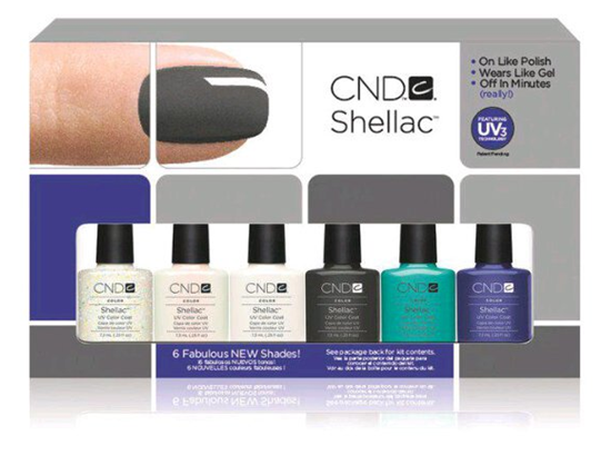 New CND Shellac Fall 2011 Colors