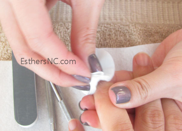 how to apply shellac nail polish - apply scrubfresh