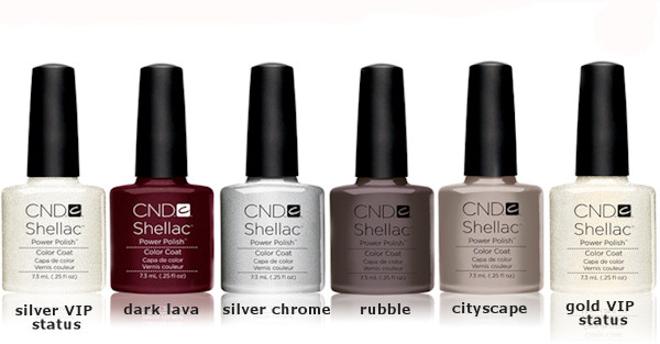 cnd shellac new spring colors 2012
