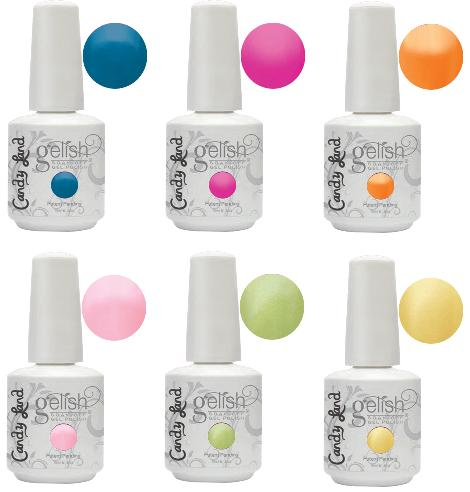 Gelish Candy Land Color Gel Nail Polish