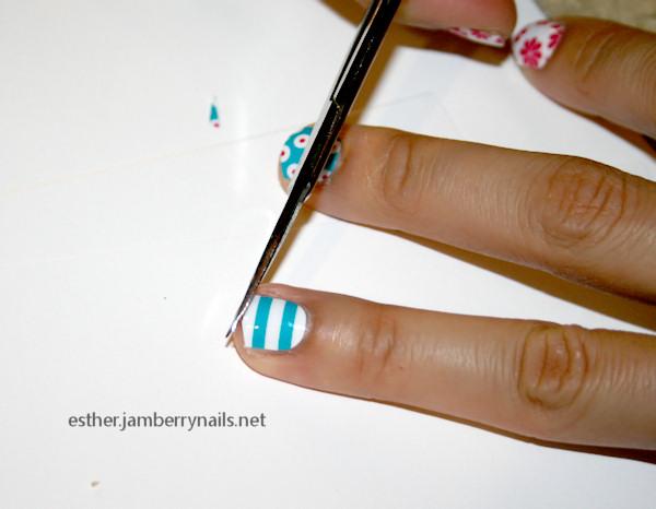 jamberry nails review cut nail shield