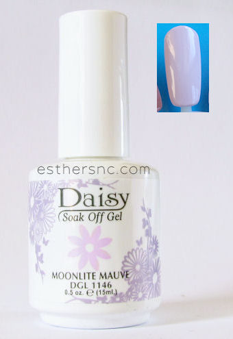 light purple for summer nail color