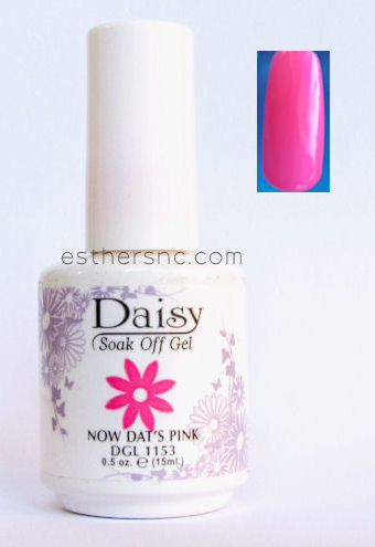 Summer nail polish hot pink color Daisy #1153