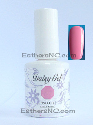 One of Summer nail polish colors daisy gel nail polish pink cutie 1109