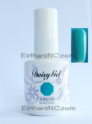 Daisy turquoise 1108 nail polish colors for summer