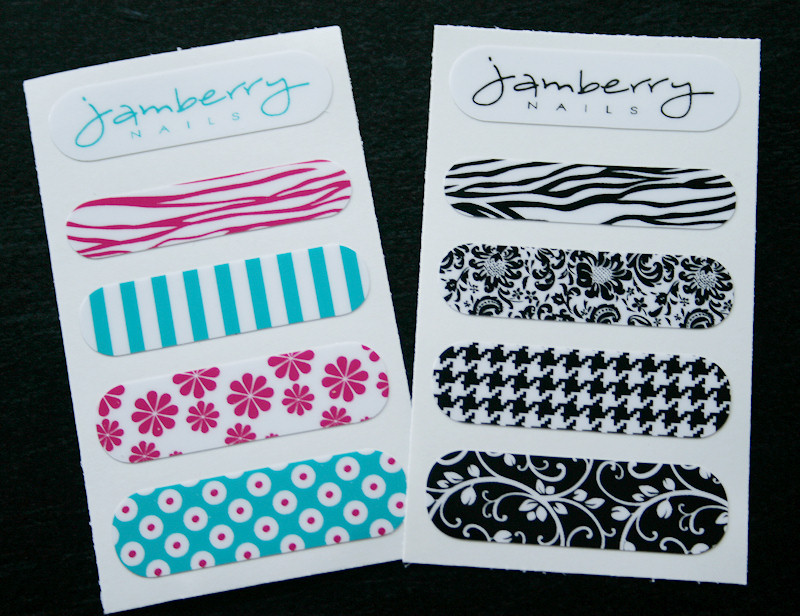 jamberry nails samples