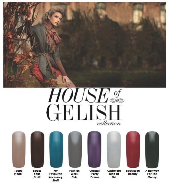 house of gelish nail polish