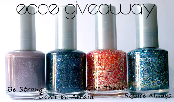 ecce nail polish giveaways