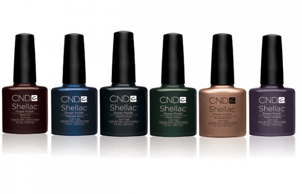 new CND Shellac Fall 2012 Colors