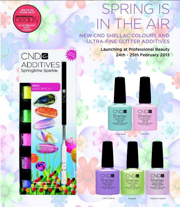 new cnd shellac spring 2013 colors