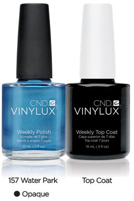 vinylux nail polish and top coat