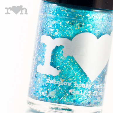 rainbow honey Siren Song nail polish