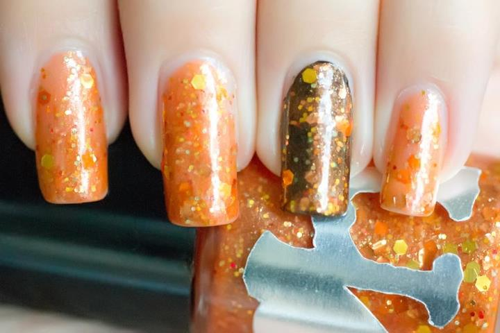 rainbow honey Hoof Wrassle nail polish