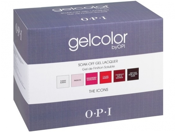 opi gelcolor the icons kit
