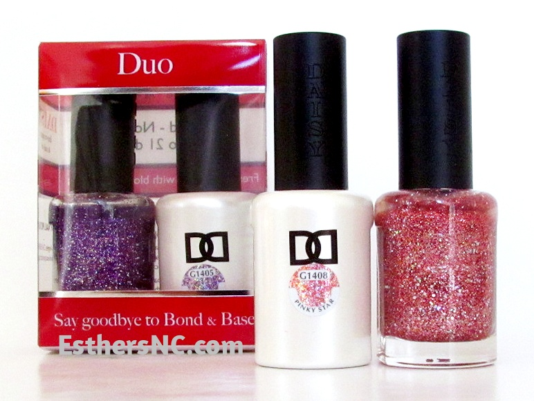 daisy duo with free nail polish