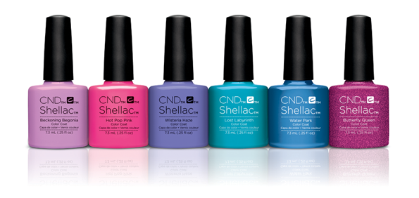 CND Shellac Garden Muse