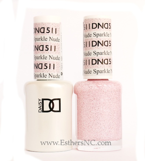 Daisy Gel Polish Sparkle Nude 511