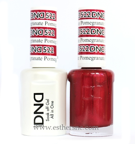 Daisy Gel Polish Pomegranate 522
