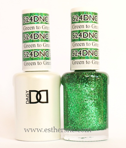 Daisy Gel Polish Green To Green 524