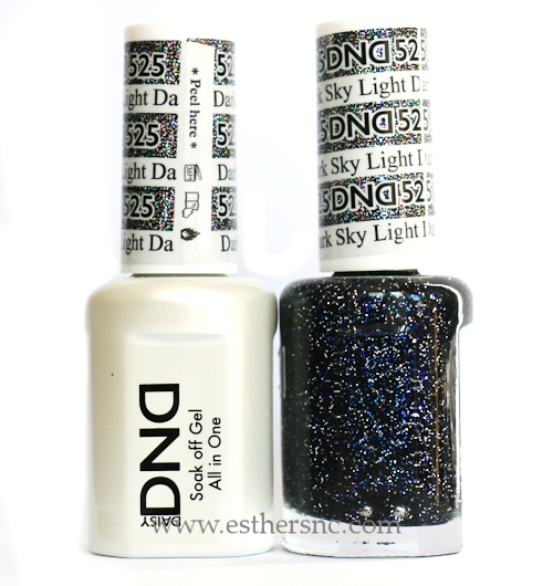 Daisy Gel Polish Dark Sky Light 525