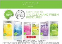 Voesh Deluxe Complete Pedicure 4 in 1 kit