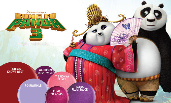 Gelish KUNG FU PANDA 3 COLLECTION