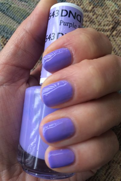 543 daisy purple passion gel polish
