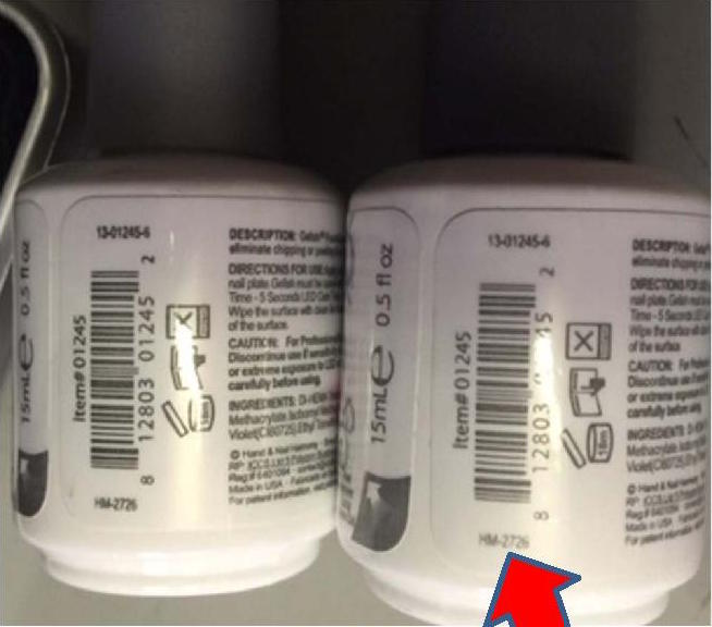 Counterfeit Gelish Products