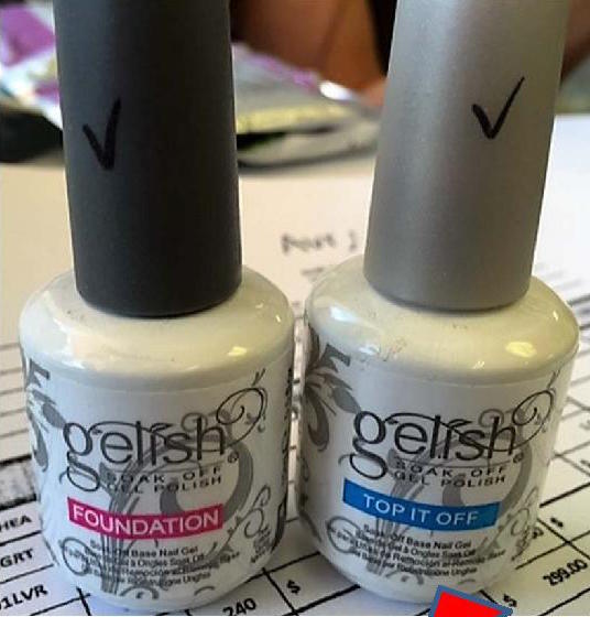 Fake Gelish Base Coat