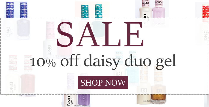 Daisy DND gel 10 % off sale