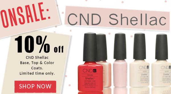 CNd Shellac Sale