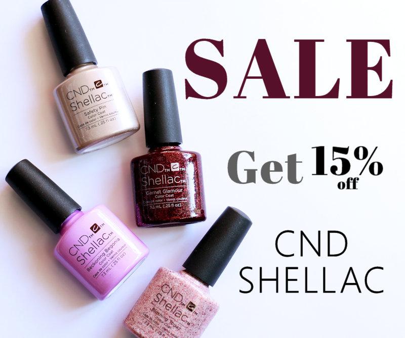 Sale CND Shellac
