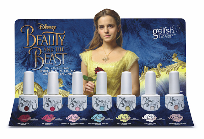 See What S New This Spring Gelish Beauty And The Beast Collection Esther S Nail Corner